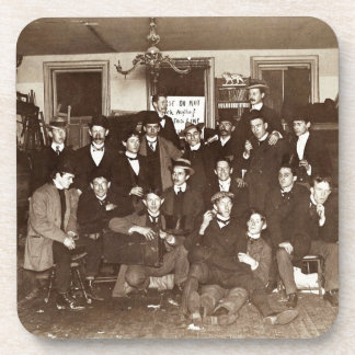 Artists and Friends of John French Sloan in Studio Coaster
