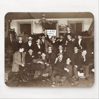 Artists and Friends of John French Sloan in Studio Mouse Pad