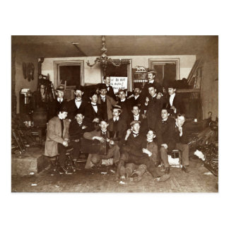 Artists and Friends of John French Sloan in Studio Postcard