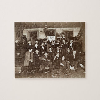 Artists and Friends of John French Sloan in Studio Jigsaw Puzzle