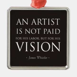 Artists Are Not Paid For Labor, But Vision Christmas Tree Ornament