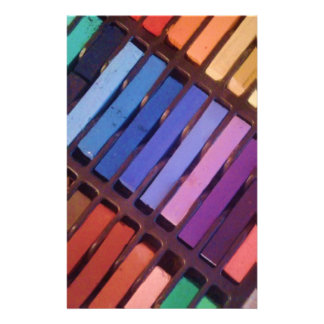Artist's Color Pastels Stationery