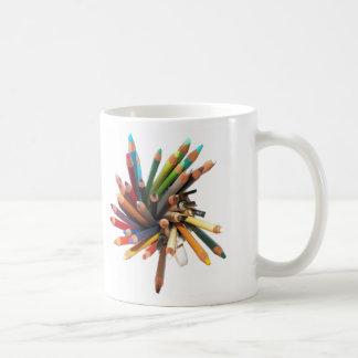 Artists Colored Oil Pencils Coffee Mug