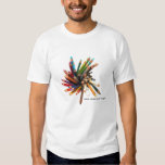 Artists Colored Oil Pencils Tee Shirt