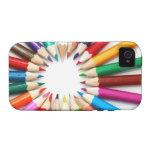 Artist's colored pencils rainbow graphic photo 4S iPhone 4/4S Cases