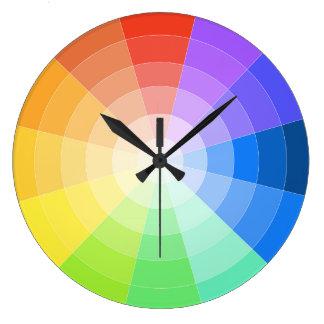 Artists Colorwheel Wallclock
