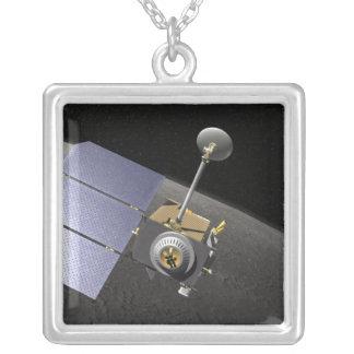 Artist's concept 9 square pendant necklace