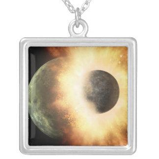 Artist's concept of a celestial body pendants