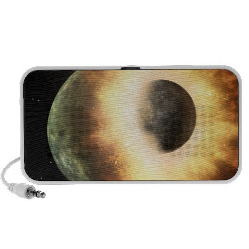 Artist's concept of a celestial body portable speakers