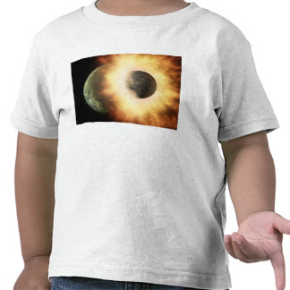 Artist's concept of a celestial body tee shirts