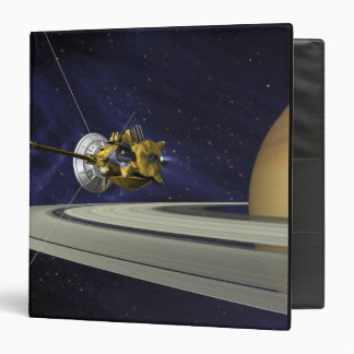 Artists concept of Cassini 3 Ring Binder