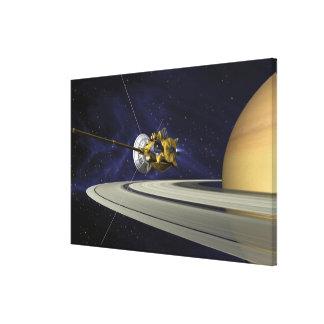 Artists concept of Cassini Canvas Print
