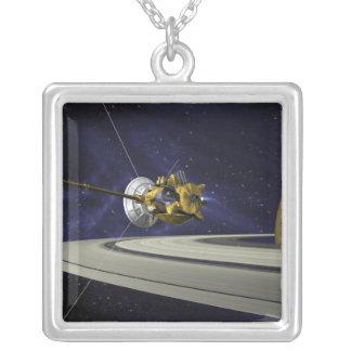 Artists concept of Cassini Square Pendant Necklace