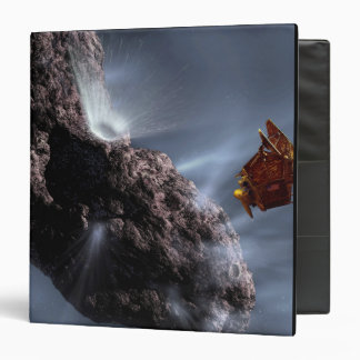 Artist's concept of Deep Impact's Encounter 3 Ring Binder