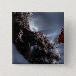 Artist's concept of Deep Impact's Encounter Button