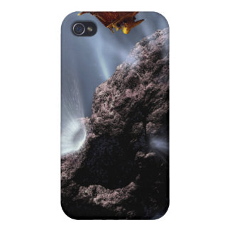 Artist's concept of Deep Impact's Encounter Covers For iPhone 4