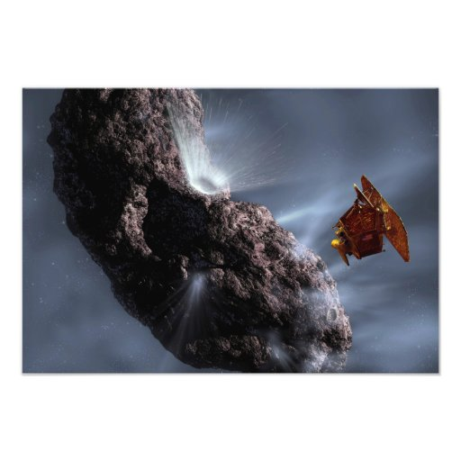 Artist's concept of Deep Impact's Encounter Photo Print