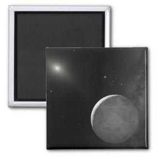 Artist's concept of Kuiper Belt object 2 Inch Square Magnet