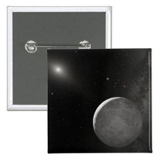 Artist's concept of Kuiper Belt object Pins