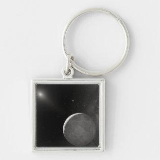 Artist's concept of Kuiper Belt object Key Chains