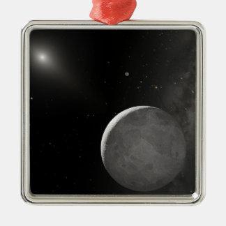 Artist's concept of Kuiper Belt object Metal Ornament