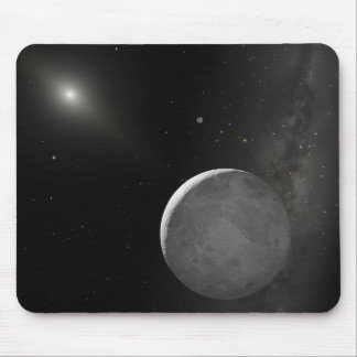 Artist's concept of Kuiper Belt object Mouse Pad