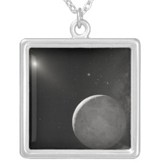 Artist's concept of Kuiper Belt object Personalized Necklace