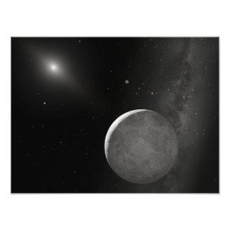 Artist's concept of Kuiper Belt object Photo Print