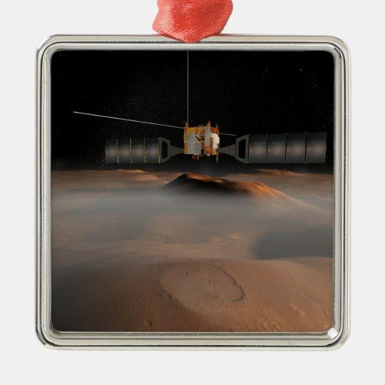 Artist's concept of Mars Express spacecraft Metal Ornament