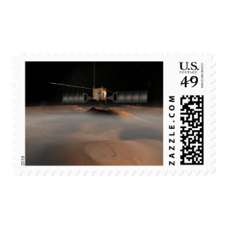 Artist's concept of Mars Express spacecraft Postage