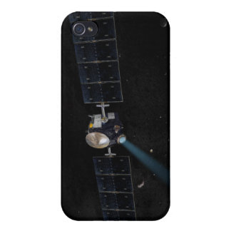 Artist's concept of the Dawn spacecraft in orbi Cover For iPhone 4