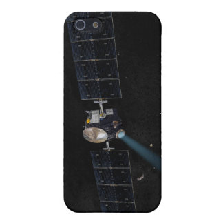 Artist's concept of the Dawn spacecraft in orbi Cover For iPhone 5