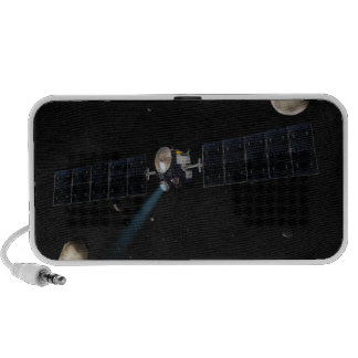 Artist's concept of the Dawn spacecraft in orbi Travel Speaker