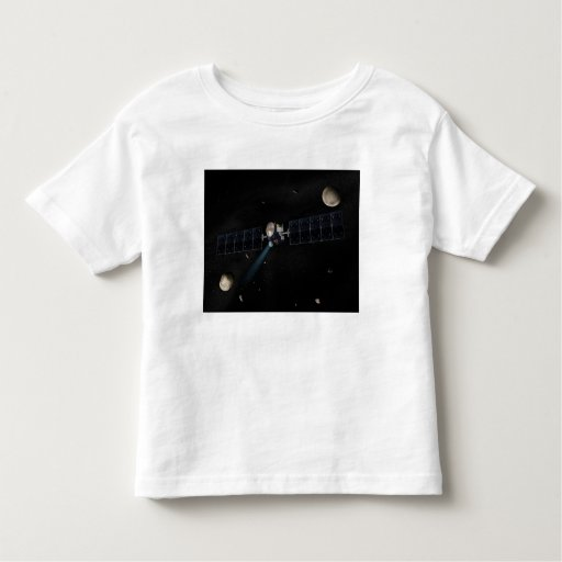 Artist's concept of the Dawn spacecraft in orbi Toddler T-shirt