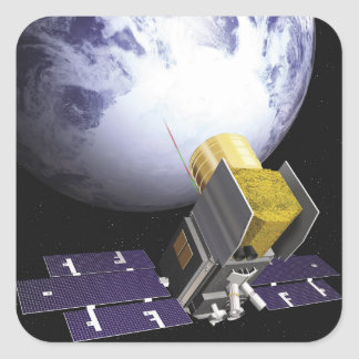 Artist's concept of the Ice, Cloud Square Sticker