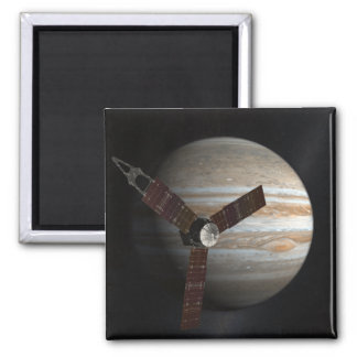 Artist's concept of the Juno spacecraft 2 Inch Square Magnet