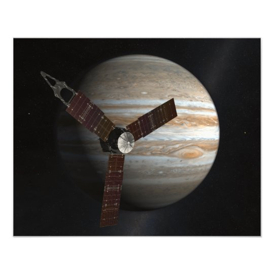 Artist's concept of the Juno spacecraft Photo Print