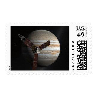 Artist's concept of the Juno spacecraft Postage
