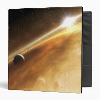 Artist's concept of the star Fomalhaut 3 Ring Binder