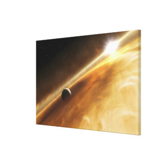 Artist's concept of the star Fomalhaut Stretched Canvas Prints