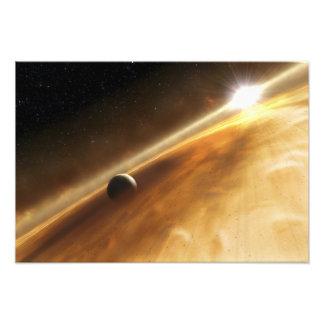 Artist's concept of the star Fomalhaut Photo Print