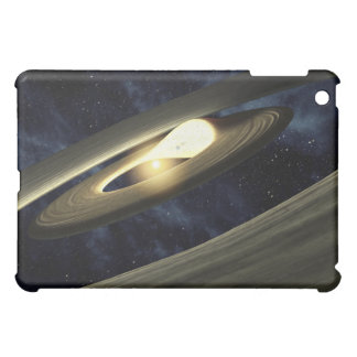 Artist's concept showing a lump of material iPad mini cover