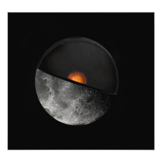 Artist's concept showing a possible inner core photo print