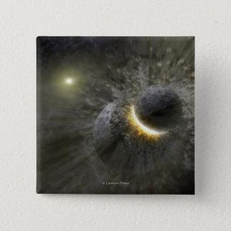 Artist's concept Space Collision at Vega Button