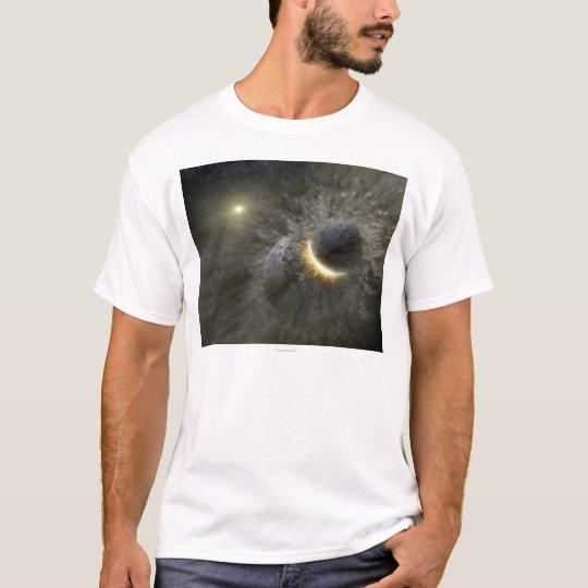 Artist's concept Space Collision at Vega T-Shirt