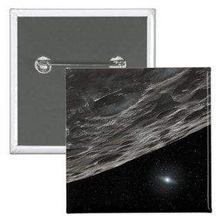 Artist's Conception of a Kuiper Belt Object Pin