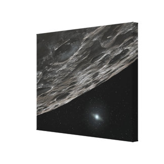 Artist's Conception of a Kuiper Belt Object Canvas Print
