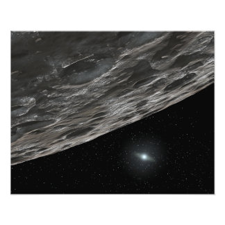 Artist's Conception of a Kuiper Belt Object Photo Print