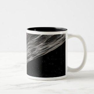Artist's Conception of a Kuiper Belt Object Two-Tone Coffee Mug