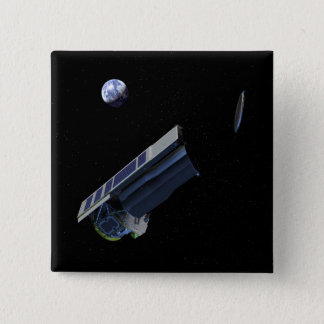 Artists conception of Spitzer Pinback Button